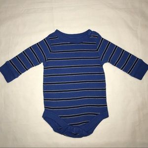 Long Sleeve Baby Boy Waffle Material Body Suit